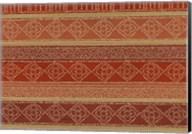 Batik Stripes I Fine-Art Print