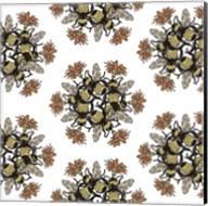 Bee Circle Pattern Fine-Art Print