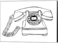 BW Vintage Phone Fine-Art Print