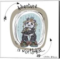 Panda With Words Fine-Art Print