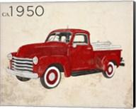Vintage Pick-Up Fine-Art Print