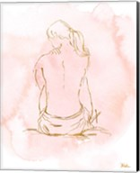 Nude on Pink II Fine-Art Print