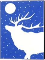 White Elk Fine-Art Print
