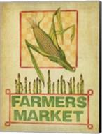 Summer Farmers Market Vintage Fine-Art Print