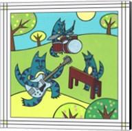 Max Cat Band 1 Fine-Art Print