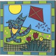 Max Cat Kite 1 Fine-Art Print