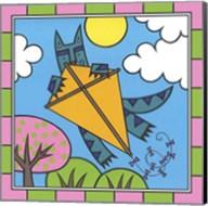 Max Cat Kite 2 Fine-Art Print