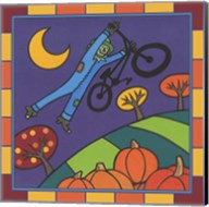 Stitch The Scarecrow Bike 2 Fine-Art Print