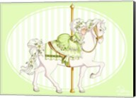 Carousel Green Fine-Art Print