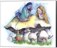 Alice and The Caterpillar Fine-Art Print