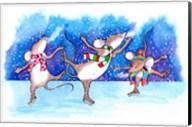 Mice Skating Fine-Art Print