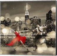 Dancin' in the Moonlight (BW, detail) Fine-Art Print