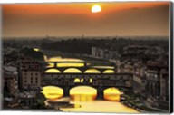 Sunset in Florence Fine-Art Print