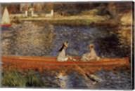 Seine at Asnieres Fine-Art Print