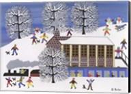 Winter Station Fine-Art Print