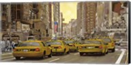 Taxi a New York Fine-Art Print