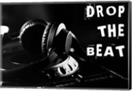 Drop The Beat - Black and White Fine-Art Print