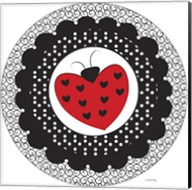 Ladybug Heart Fine-Art Print