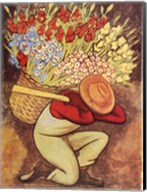 Vendedora de Flores Fine-Art Print