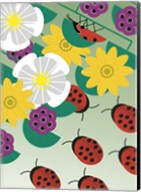 Flowers On Green Fine-Art Print