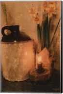 Daffodils by Candlelight Fine-Art Print