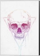 Skull In Triangle Fine-Art Print