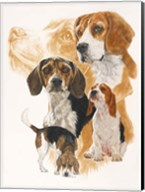 Beagle and Ghost Image Fine-Art Print