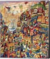 Croc City Fine-Art Print