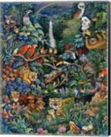 Rainbow Rainforest Fine-Art Print