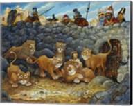 Daniel In Lions Den Fine-Art Print