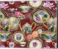 China Cabinet Oxblood Fine-Art Print