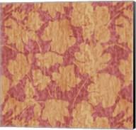 Floral Waltz Mono Rose Gold Fine-Art Print
