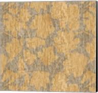 Floral Waltz Mono Sand Straw Fine-Art Print