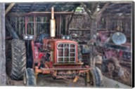 Old Tractor Shed Fine-Art Print