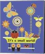 It's a Small World Flag Fine-Art Print
