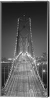 Oakland Bridge 3 BW Fine-Art Print