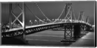 Oakland Bridge 2 BW Fine-Art Print