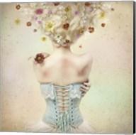 Girl of the Flower Garden Fine-Art Print