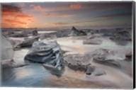 Glacial Lagoon Beach Fine-Art Print