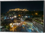 Greece Athens Acropolis Night 2 Fine-Art Print