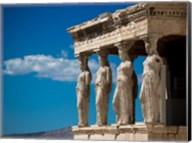 Greece Athens Acropolis Statues Fine-Art Print