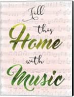 Musical Home Fine-Art Print