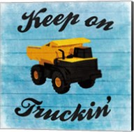 Keep Truckin Fine-Art Print