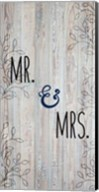 Mr and Mrs Fine-Art Print