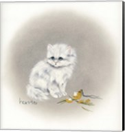 White Kitty (Ornament) Fine-Art Print