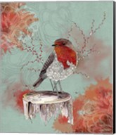 Friendly Robin Fine-Art Print
