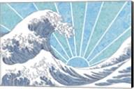 Off California Blue Fine-Art Print