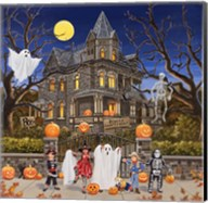 Beware - Haunted House Fine-Art Print