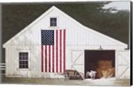 Barn With Piglet Fine-Art Print