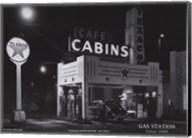 Gas Station, c.1945 Fine-Art Print
